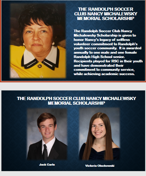 Congratulations to RSC's 2020 Nancy Michalewsky Memorial Scholarship Winners!